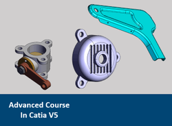 3 Months English Advanced Course In - Catia V5 - Online