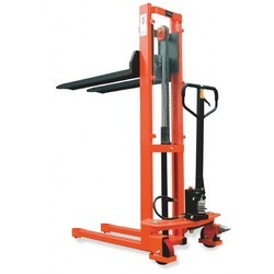 SS Hydraulic Pallet Stacker