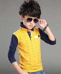 Cotton Multicolor Kids Designer Shirts