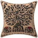 Applique Patchwork Cotton Cushion Cover 16x16 Pillow Case