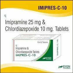 Imapramine And Chlordiazepoxide Tablet