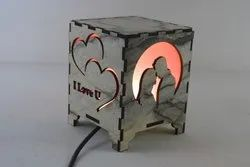 Rawsome Shack Valentine Day Lamp Gift