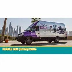 Mobile Van Advertising Hoarding