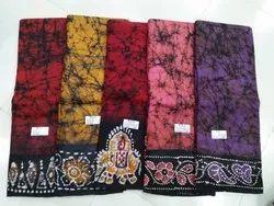 Crack Hand Batik Saree