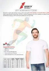 pikmee Plain Dry Fit Round Neck, Quantity Per Pack: One