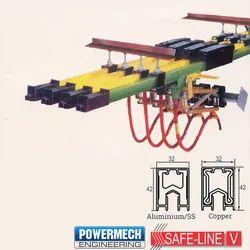 Safeline V Heavy Conductor DSL Bus Bar