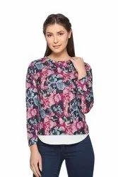 Women's Fancy Full Sleeve Top