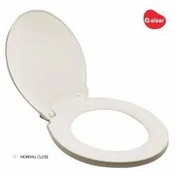Aizar White Toilet Seat And Cover Normal close, For Bathroom Fittings
