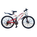 White And Red Cosmic 26 Voyager Bicycle, Size: 26 Inch