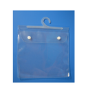 Transparent Pvc Packaging Bag With Hanger, Thickness: 40-100 Microns