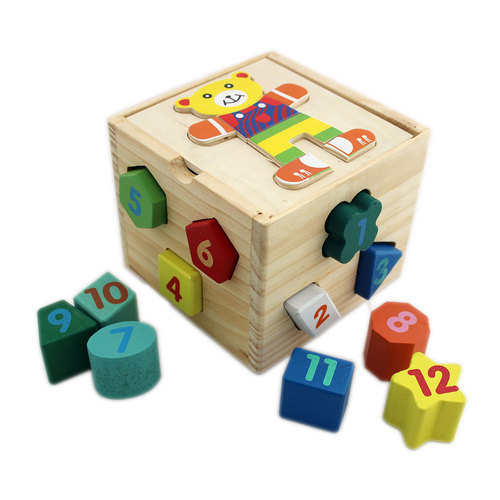 Wooden Domino Building Blocks Toy Game Play Kids Colorful Toys Set Wood Racing
