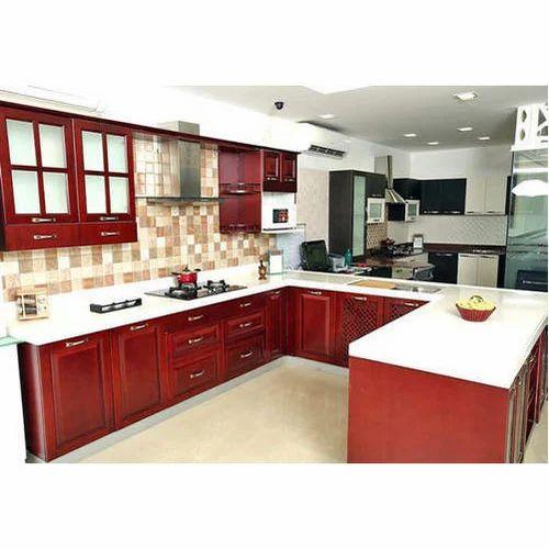 Modern Modular Kitchen Cabinets Designing Services Kitchen Cabinet Service Contemporary Modular Kitchen Modern Kitchens Modular Kitchen Furniture Q Rich Interior Coimbatore Id 15041489433