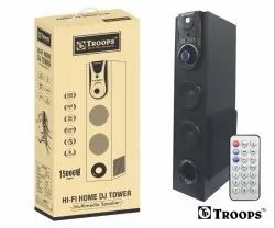 Troops Tp-3030 Hi-Fi Dj Tower Multi-Media Speaker