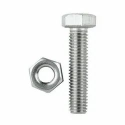 Stainless Steel Hex Nut Bolt, Size: 6 Mm -20 Mm