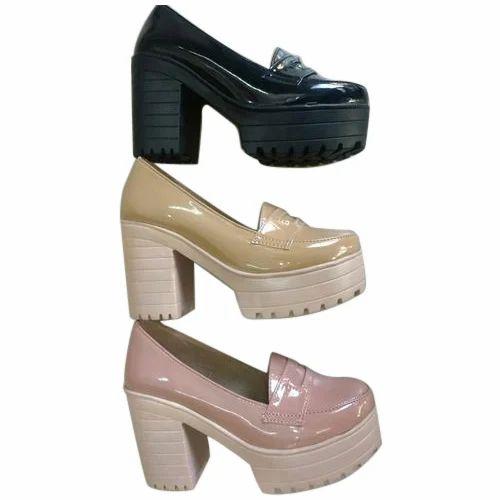 Women Ladies Designer Block Heels, Size