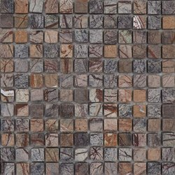 Capstona Stone Mosaics Forest Brown Tiles