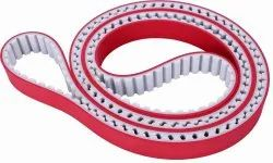 Rubber coated PU TIMING BELT