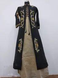 Silk Party Wear Ladies Fashion Salwar Kameez