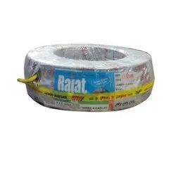 Rajat 10mm Aluminum PVC Insulated Wires
