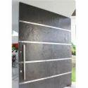 Stone Veneer Door