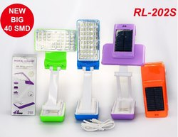 Rocklight LED Solar Rechargeable Lamps