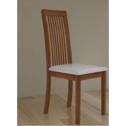 Maroon Wooden Chair