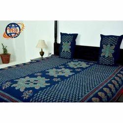 Fancy Cotton Double Bedsheet