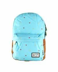 Light Blue College Bag
