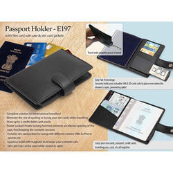 Passport Holder With Sim Card Safe Case & Sim Card Jackets
