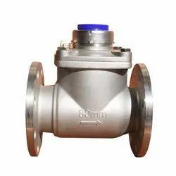 Woltman Stainless Steel Water Meter