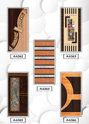 Wood Glossy New Decorative Door, Digital