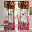 Teddy Printed Digital Curtain