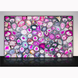 Agate Pink Giant Slab
