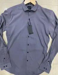 AX Power Stretch Lycra Mens Designer Shirts, Size: S-XXL