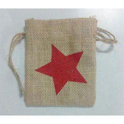 Drawstring Jute Bag