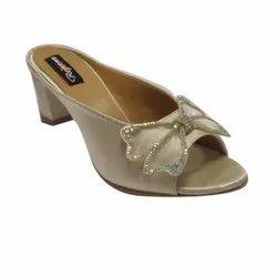 Polka Party Wear Ladies Footwear, Size: 35-42