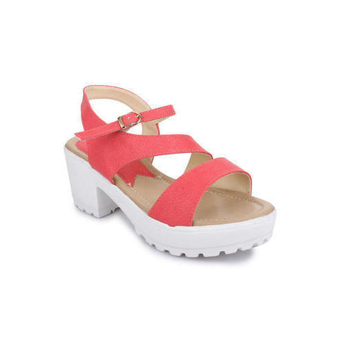 a9f83d9d8 Ladies Pink Heel Wedges