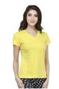 Bongio Women Plain v-Neck T-Shirt