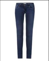 Woman Dark Blue Power Skinny Jeans