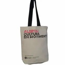 Printed Canvas Shopping Bag