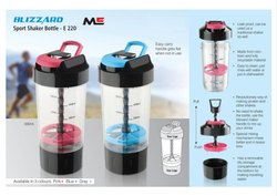 Transparent Plastic Bottles Sippers Shakers, for Office
