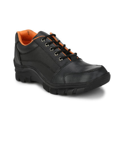 Black Peter John Leather's Handmade Steel Toe Safety Leather Shoes