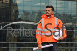 Reflective High Visibility Safety Winter Waterproof Jacket