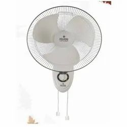 White and Grey Thunder Storm  Wall Fan
