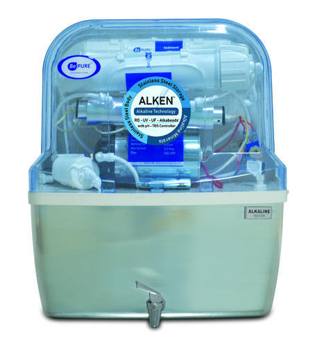 Alkaline Water Purifier with 100% Stainless Steel Storage