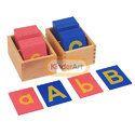 Sand Paper Alphabets