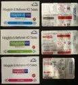 Vildagliptin & Metformin HCI Tablet