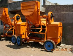 JSC053 Cement Concrete Mixer mechanical hopper