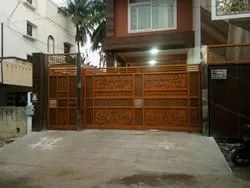 Galvanized Ornamental Gate