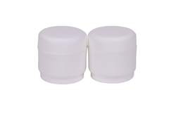 White Plastic Balm Bottle